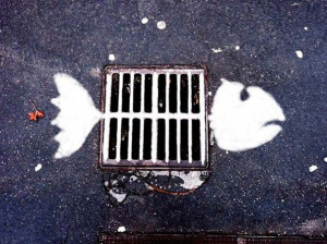 sewer fish